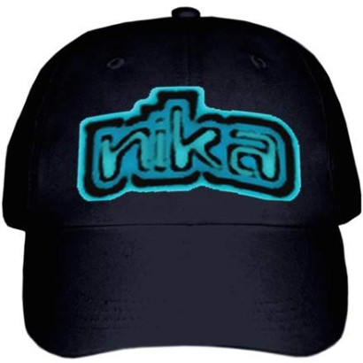 Cap with Logo-Black