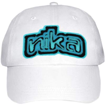 Cap with Logo-White