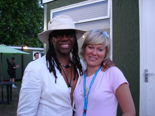 Nile Rodgers-Chic-record producer