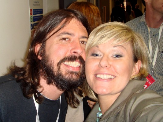 Foo Fghters-Dave Grohl- drumer in Nirvana