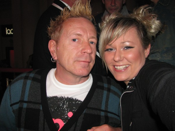 Johnny Rotten from Sex Pistols