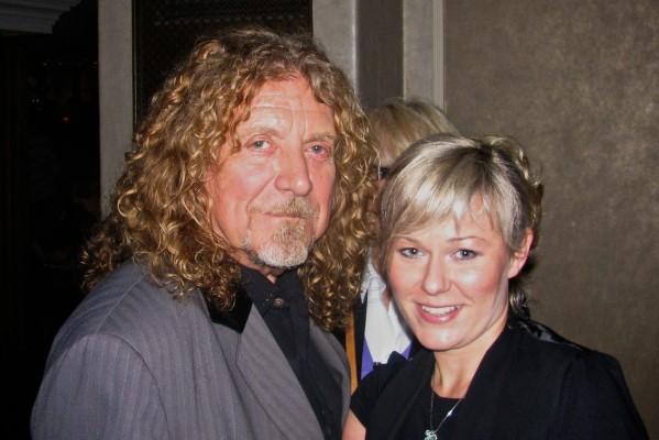 Robert Plant from Led Zeppelin