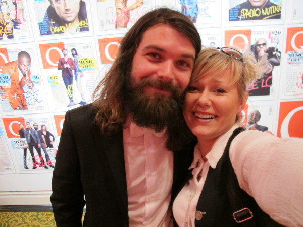 With Simon Neil from Biffy Clyro